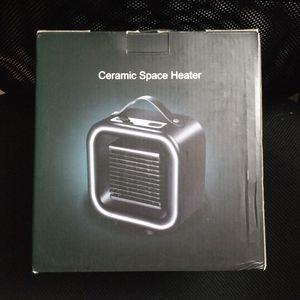 SPACE HEATER - Ceramic portable heat NEW